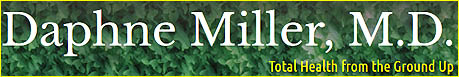 Daphne Miller MD Logo & Link to Website