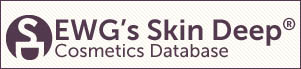 EWG's Skin Deep Cosmetics Database Logo & Link