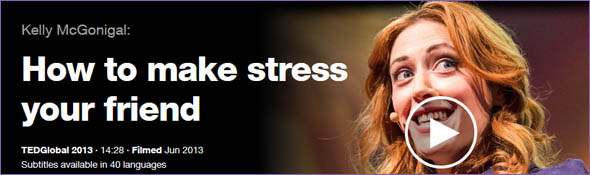 Keely McGonigal - How to make stress your friend - Logo & Link